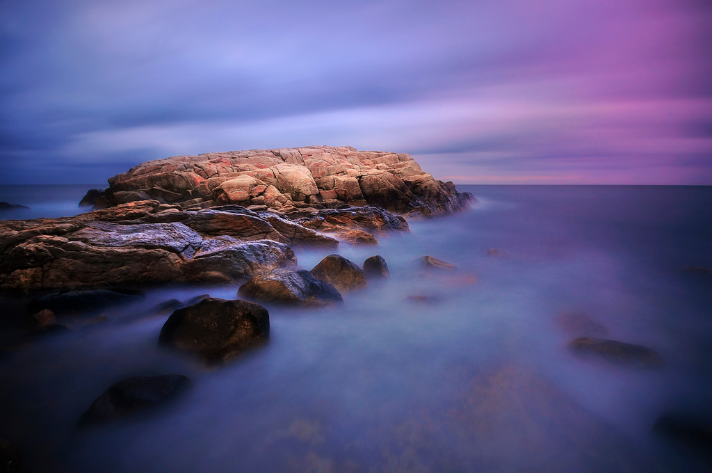 Sunrise at Narragansett Bay, Rhode Island
