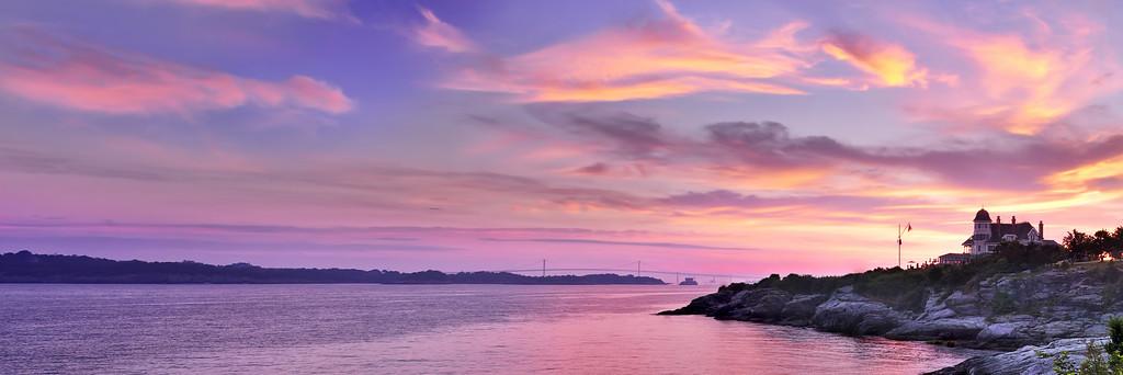 Castle Hill Sunrise, Newport, Rhode Island
