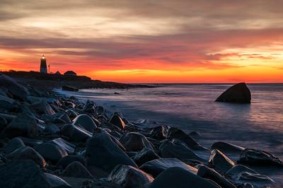 Beautiful Sunrise at Point Judith, Rhode Island