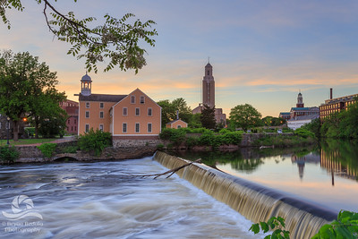 Slater Mill Sunset