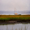 Boat in Marshland, Little Compton