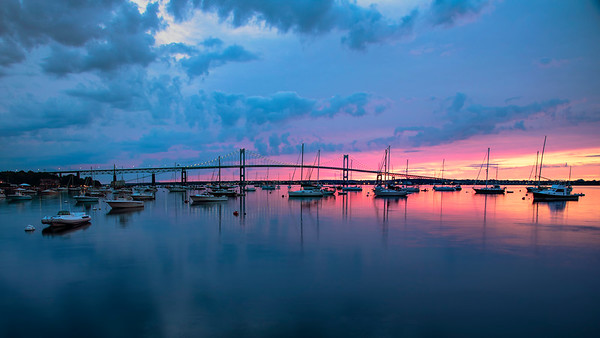Jamestown-Verrazzano Bridge, Jamestown, Rhode Island
