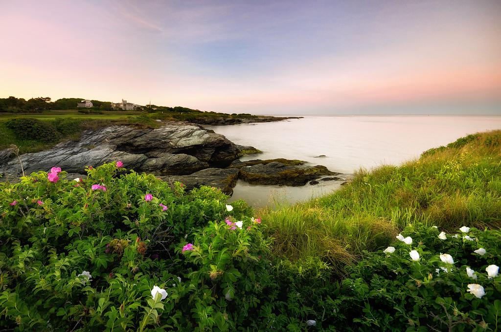 Newport sunrise, Ocean Drive, Rhode Island