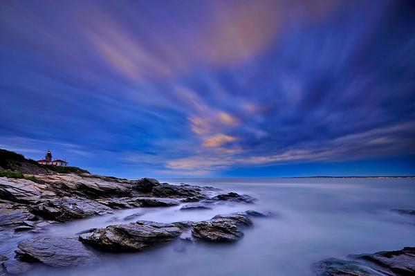Cloud Movement - Beavertail State Park, Rhode Island.