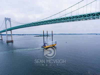 Drone Aerial of Newport Rhode Island by Sean McVeigh Media
