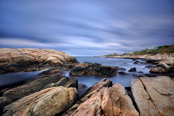 Long Exposure shot of Narragansett Bay, Rhode Island