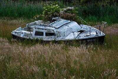 Abandoned Boat, Sakonnet Point, Little Compton, RI
