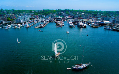Drone Aerial of Newport Rhode Island by Sean McVeigh Media
