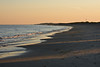 Sunset Over Napatree<br /> The sun settining the west casts long shadows over the Atlantic side of Napatree Point