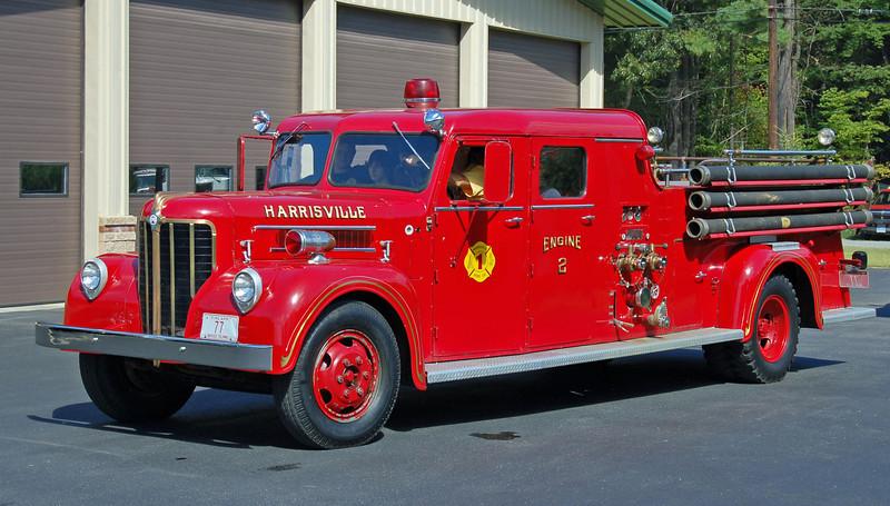 RETIRED  Engine 2   1949 Maxim   750/200