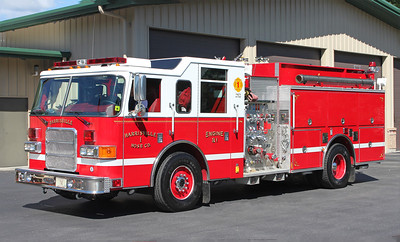 Engine 21.  2002 Pierce Enforcer.  1500 / 1000
