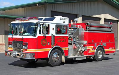 Engine 31.  1995 KME.  1250 / 1000 (Before Repainted)