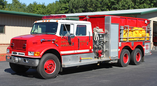 Engine 11.  1997 International / Murphy   1250 / 2500