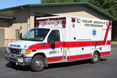 Medic 1.  2008 Ford E-450 / Osage