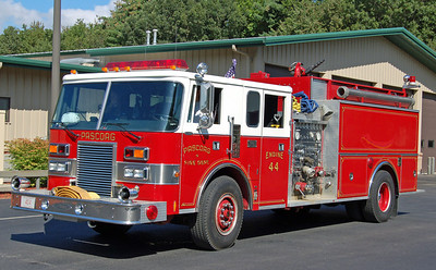 Engine 44  1990 Pierce Lance  1500/1500