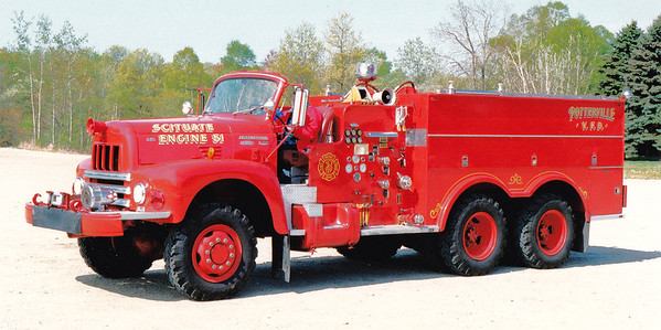 Retired Engine 51.  International / Maynard