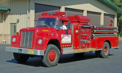 Retired Engine 1.  International / Bean   1000 / 500