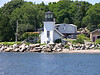 In 1929 the lighthouse station was sold at public auction for $2,050.  Over the years the lighthouse fell into disrepair as it was rented to college students for housing.