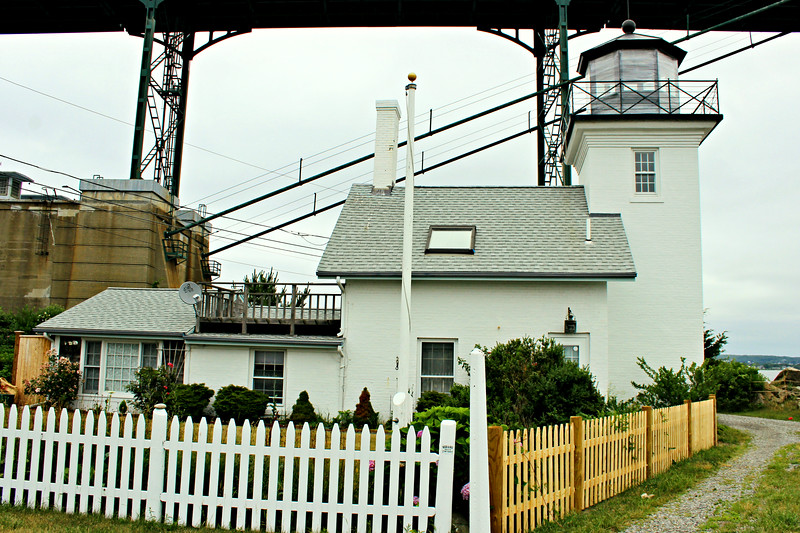 Congress appropriated $1,500 for the project in August 1854.  Land for a lighthouse station was purchased from George Pearse for $100.