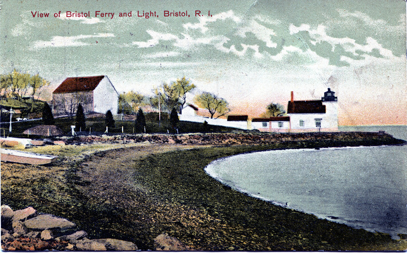 **Turn of the century postcard view**