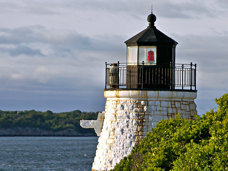 When the Light House Board approached Agassiz about selling a piece of his property for a lighthouse station he refused their offer.  He had just completed building an elaborate summer residence at Castle Hill.  A fog signal station, he reasoned, would lower his property value.