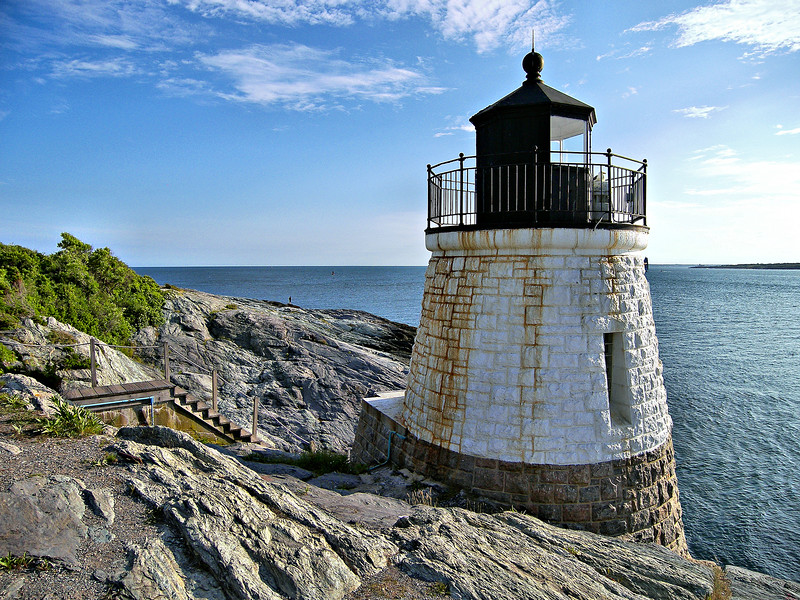 In 1885 the Light House Board resubmitted their plan for a station to be erected at Castle Hill.  On August 4, 1886 Congress once again appropriated $10,000 for the project.
