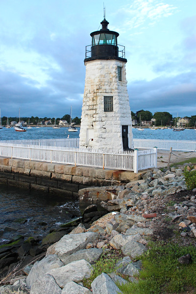The area between the lighthouse and the island was filled in as condominiums and a hotel were built.  The lighthouse was added to the National Register of Historic Places on March 30, 1988.