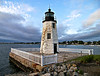 The islet would figure prominently in Newport's history being at different times home to a military fort, a naval torpedo station, condominiums and hotels, and of course a lighthouse station.