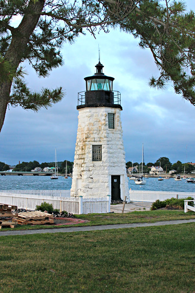 In 1864 a new two-story Keepers dwelling was constructed attached to the lighthouse at a cost of $6,000 replacing the original 1823 dwelling.