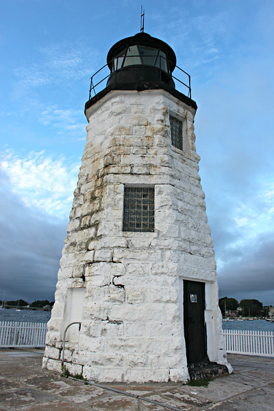 Samuel Watson was appointed the first Keeper of the Goat Island Light.  The light went into service on January 1, 1824.