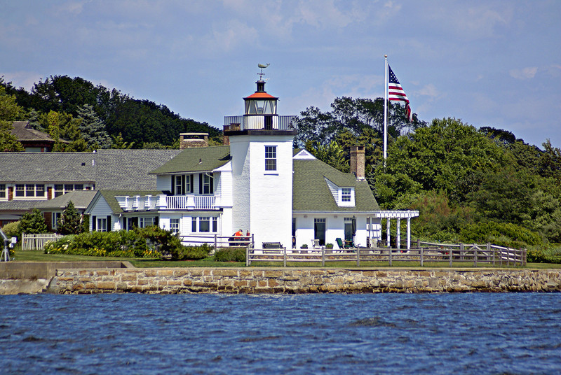 The Nayatt Point dwelling was cared for by a custodian until it was sold at an auction in 1890 for $4,000.  It has remained in private ownership since.  In February 1988 the site was added to the National Register of Historic Places.  The Nayatt Point Lighthouse currently has a light from an old lightship in its lantern but is not an official aid to navigation.  Although it can be viewed from the road and the Bay it remains private property.