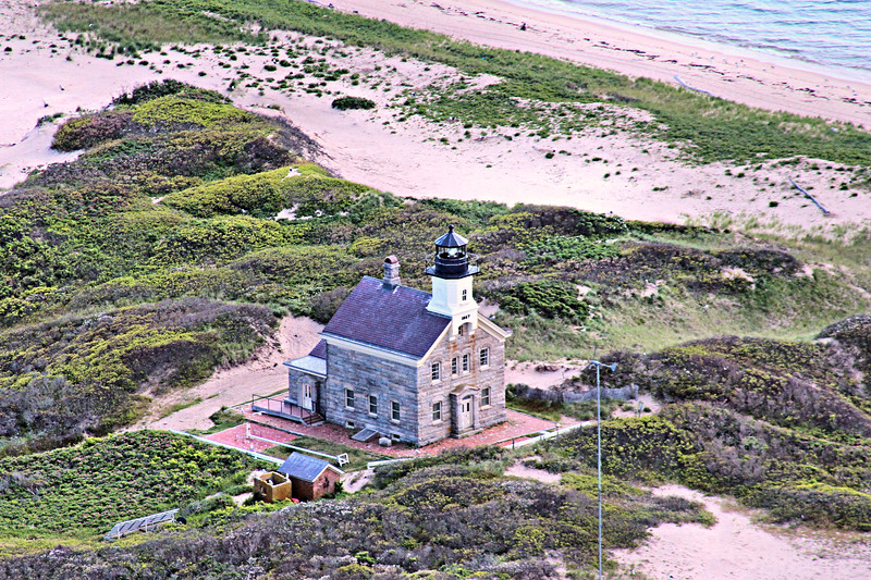 Assignment to the North Light was considered a plum job by the lighthouse keepers. Although it was somewhat isolated, it was easy to travel to town and constantly visited by area fisherman.