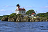 In 2005 ExxonMobil reached a 25 year lease agreement with a newly formed group named the Friends of Pomham Rocks Light.  The new group was formed as a chapter of the American Lighthouse Foundation (ALF).  With monies raised by the Friends group and donations from ExxonMobil a restoration of the lighthouse was begun.