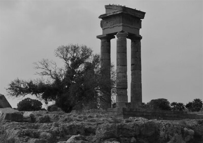 Temple of Apollo ruins, Rhodes