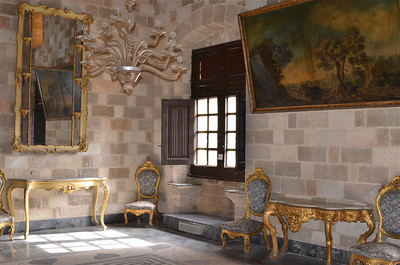 Inside the Palace of the Grand Masters, Rhodes