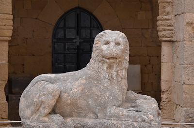 Archaeological Museum Of Rhodes, Greece.