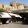 Shops in the Rhodes Old Town.
