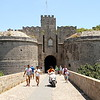 Entrance to Rhodes Old Town Medieval fortress.