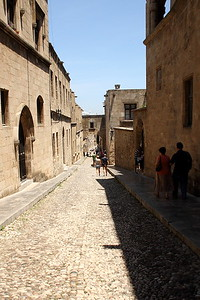 Street of the Knights.