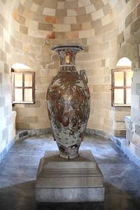 Ornate vase.