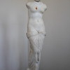 Venus statue that had been discovered in the sea.