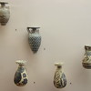 Excavated vases.  They were quite small, smaller than my hand.