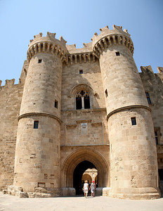 Entrance to the Palace of the Grand Master.