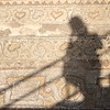 More mosaics + shadow self portrait.
