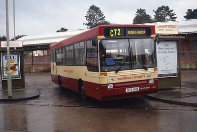 Rhondda 75 Caerphilly Bus Stn Sep 94
