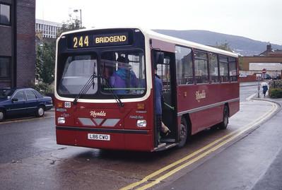 Rhondda 86 Pontypridd Bus Stn Sep 94