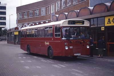 Rhondda 699 Cardiff Bus Stn Sep 94