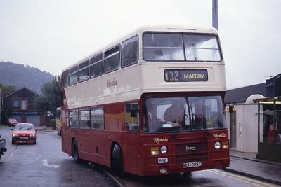 Rhondda 858 Pontypridd Bus Stn Sep 94