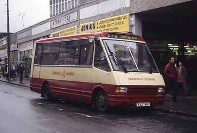 Rhondda 2113 Taff St Pontypridd Bus Stn Sep 94