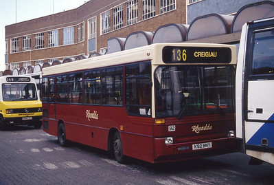 Rhondda 92 Cardiff Bus Stn Sep 94